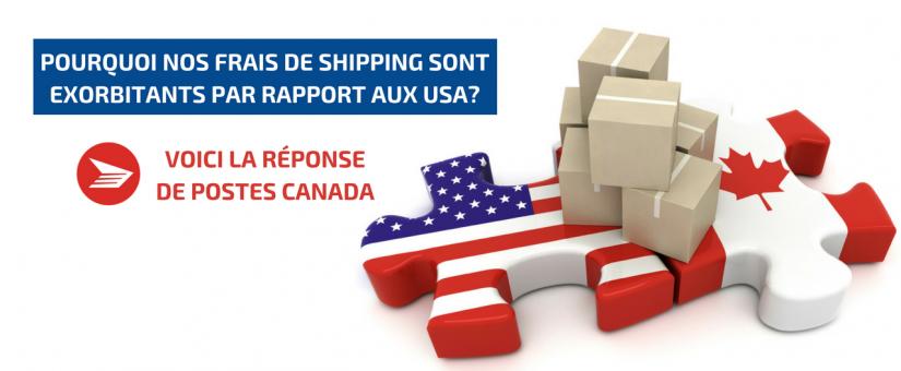 Tarifs d'expédition exorbitants : la réponse de Postes Canada…
